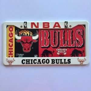 Other - Chicago bulls car plate frame